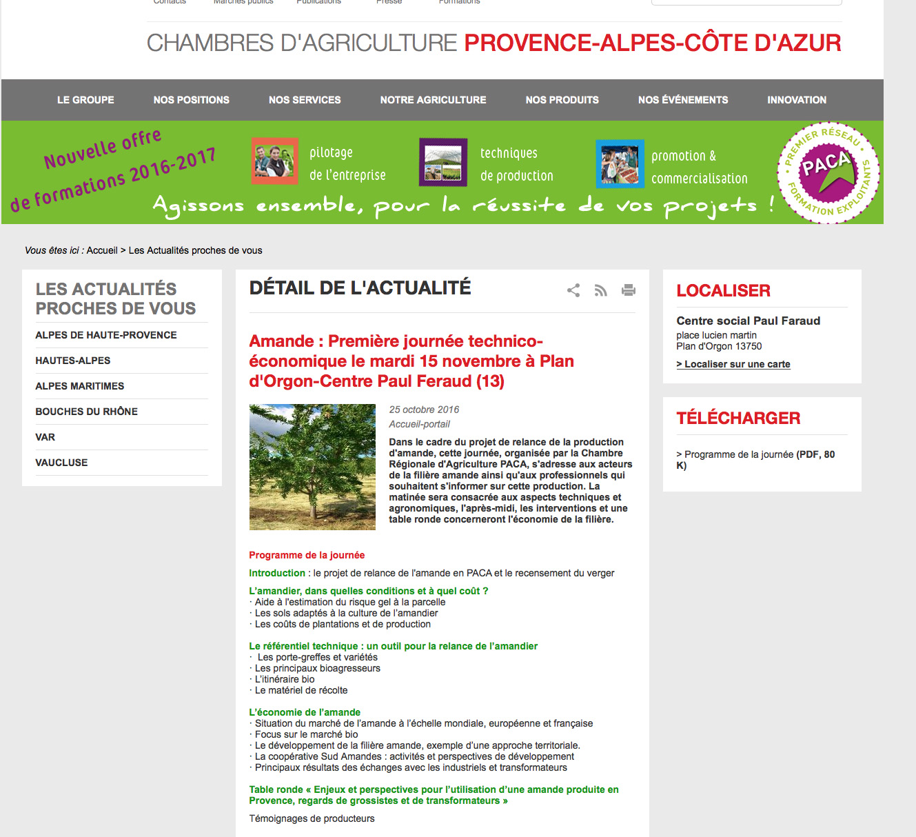 subventions agricoles france